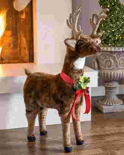 Standing Christmas Reindeer Main