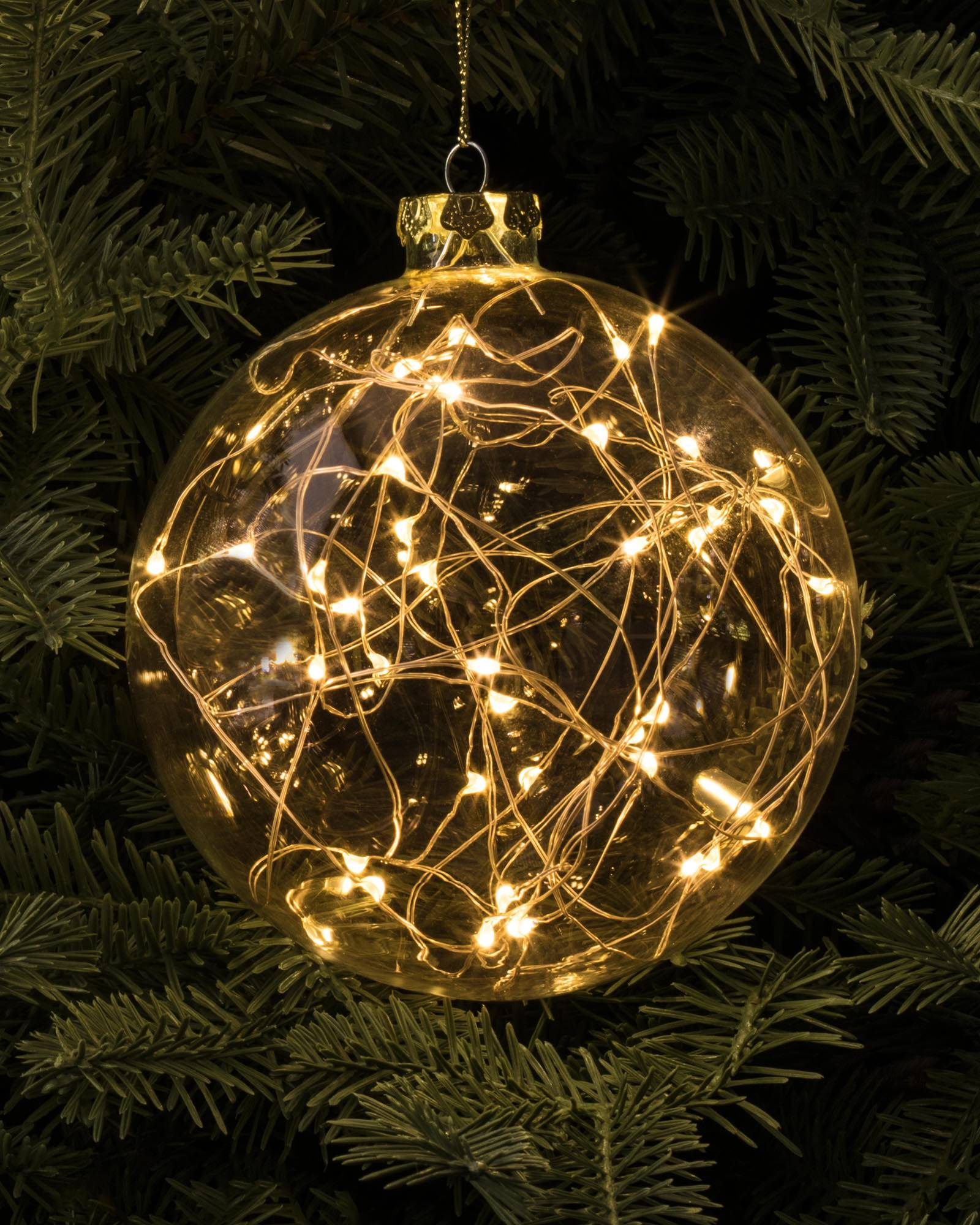 led fairy light ornaments - Christmas Decorations Led Ornaments