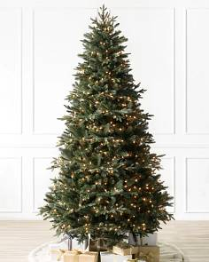 Pre-lit Christmas Trees with Clear LED Lights | Balsam Hill