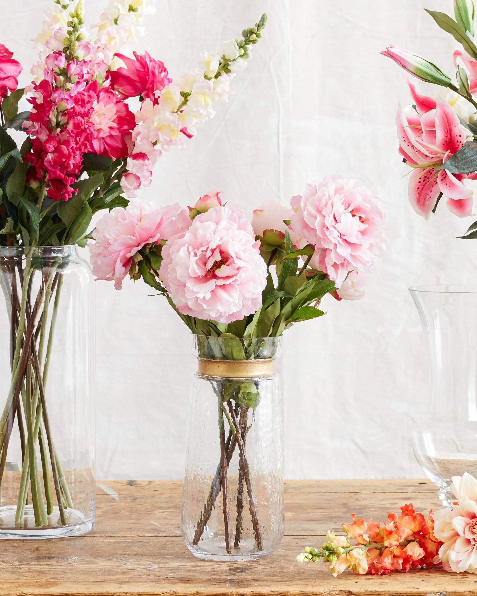Peony Flower Stems Balsam Hill