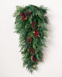 Christmas Swag.Decorative Christmas Swags Balsam Hill