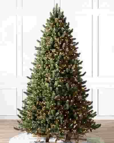 Vermont White Spruce Flip Tree by Balsam Hill SSC 10