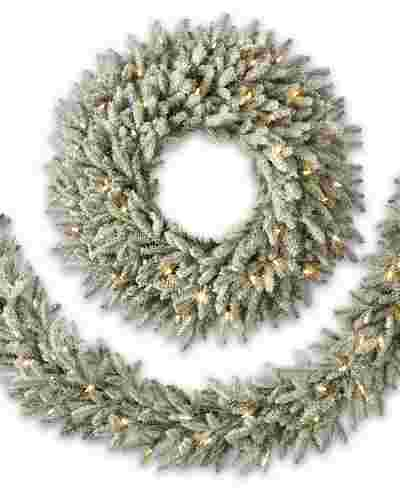 Frosted Fraser Fir Foliage by Balsam Hill