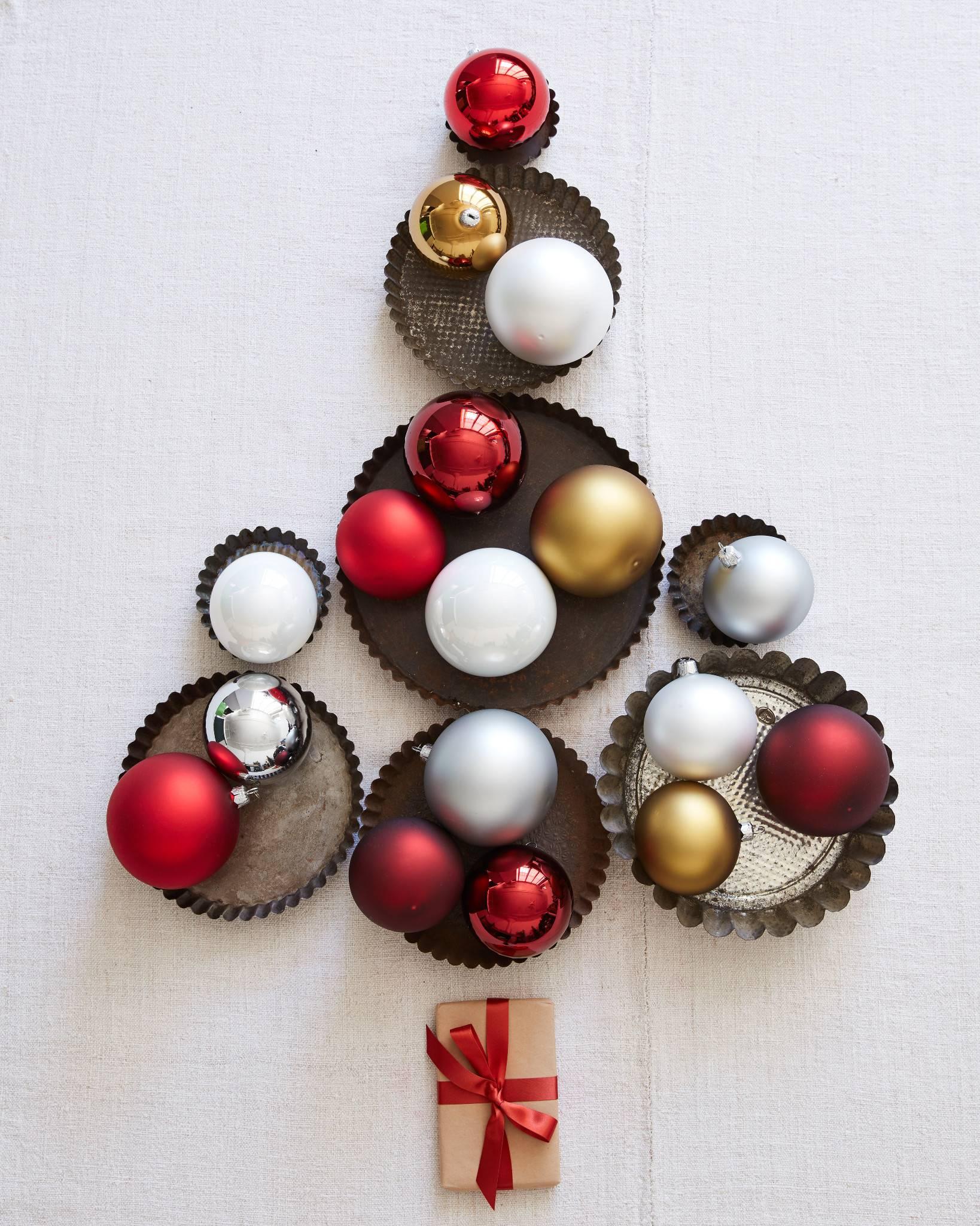 BH Essentials Metallic Ornament Set   Balsam Hill