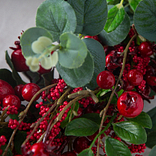 Mixed Berry Advent Wreath by Balsam Hill