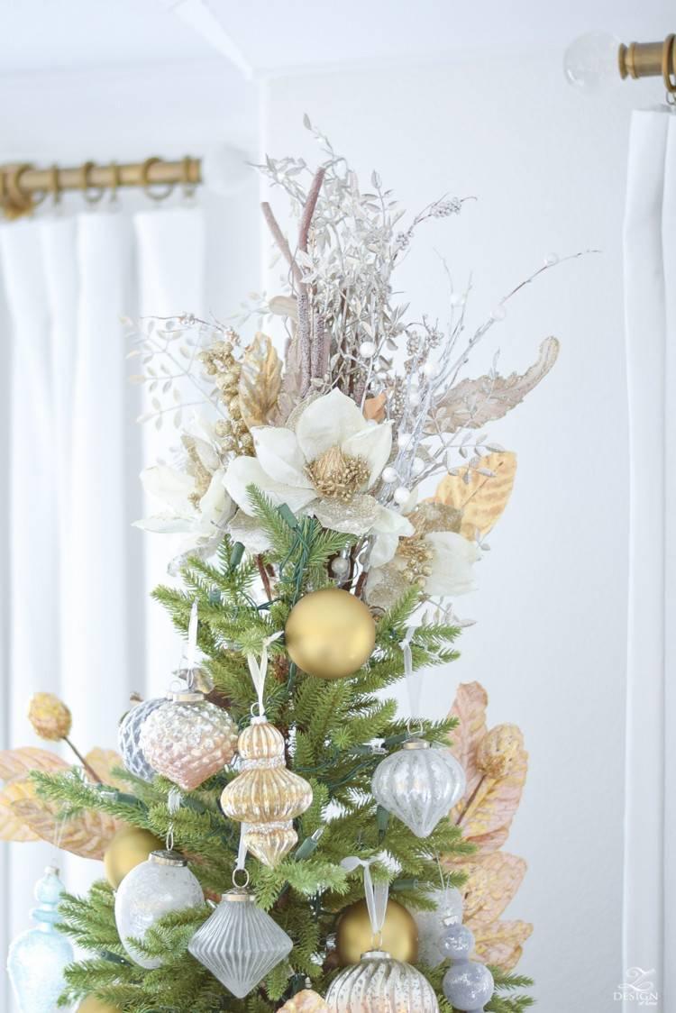 Christmas Bouquet Tree Topper | Balsam Hill
