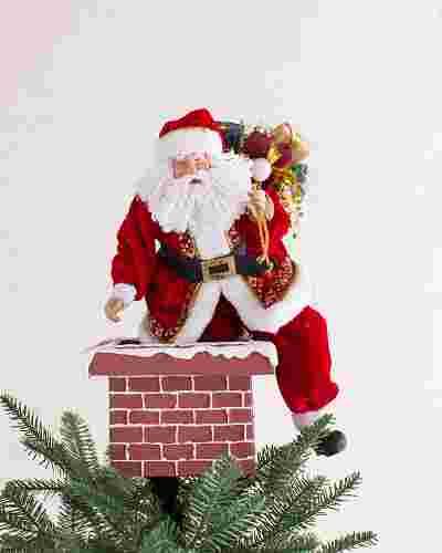 Jolly Saint Nick Tree Topper Main