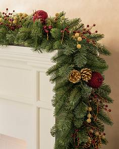 Artificial Christmas Wreaths.Artificial Christmas Wreaths Garlands Foliage Balsam Hill