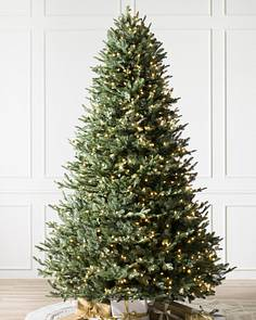 bh balsam fir flip tree 1 - Pre Decorated Artificial Christmas Trees