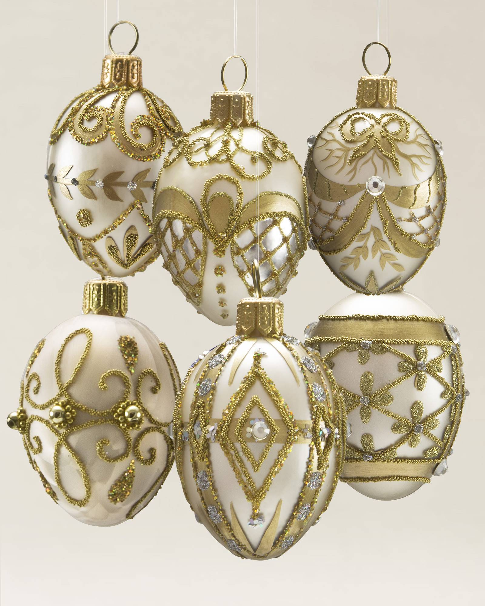 noel glass ornament set 35 pieces alt