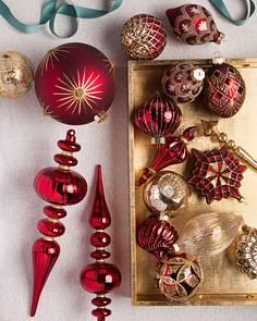 Christmas Ornament Sets.Christmas Bauble Sets Balsam Hill
