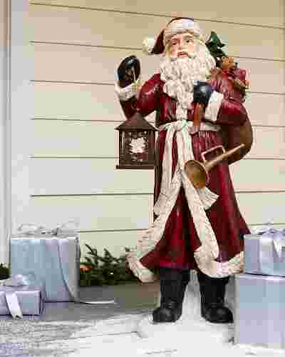 Outdoor Father Christmas by Balsam Hill SSC 10