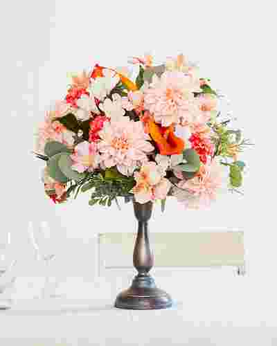 Peach Blossom Arrangement by Balsam Hill