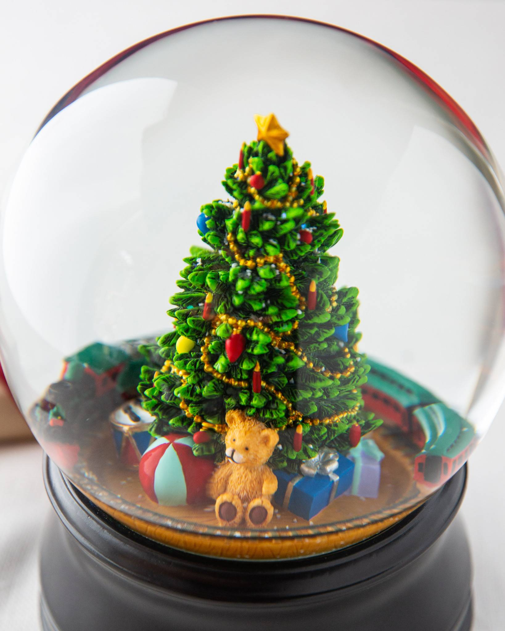 Christmas Moments Musical Snow Globe | Balsam Hill