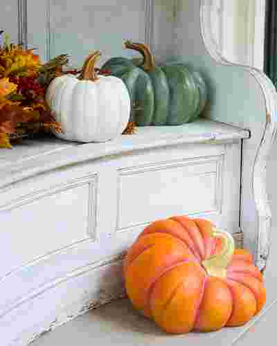 Outdoor Heirloom Pumpkins, Set of 3 by Balsam Hill