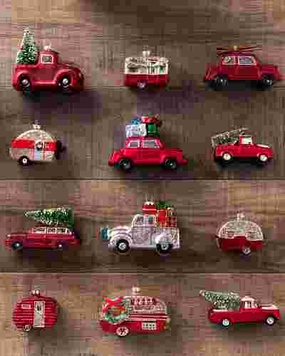 On the Road Ornament Set 12 Pieces by Balsam Hill SSC