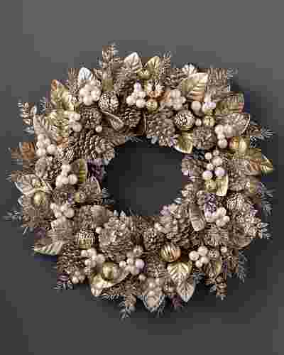 Gilded Glamour Wreath by Balsam Hill