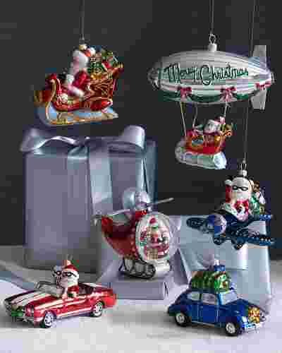 Santa's Journey Ornaments by Balsam Hill