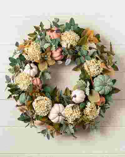 Fairytale Pumpkin Wreath by Balsam Hill