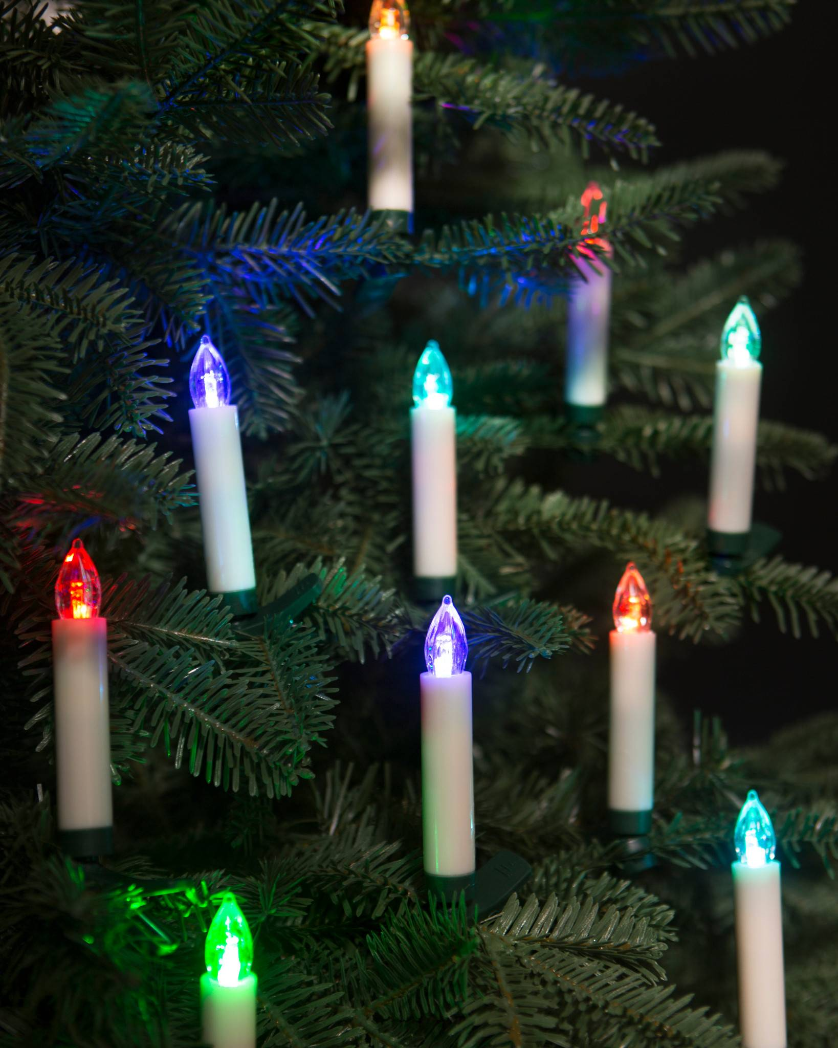 color changing led christmas tree candles set balsam hill uk. Black Bedroom Furniture Sets. Home Design Ideas
