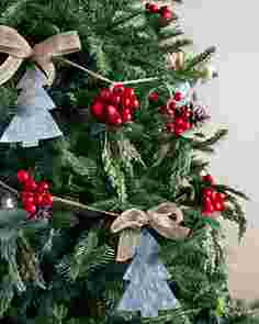 Country Christmas Garland Set of 3 by Balsam Hill SSC