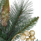 Coloma Golden Pine Potted Tree by Balsam Hill Detail