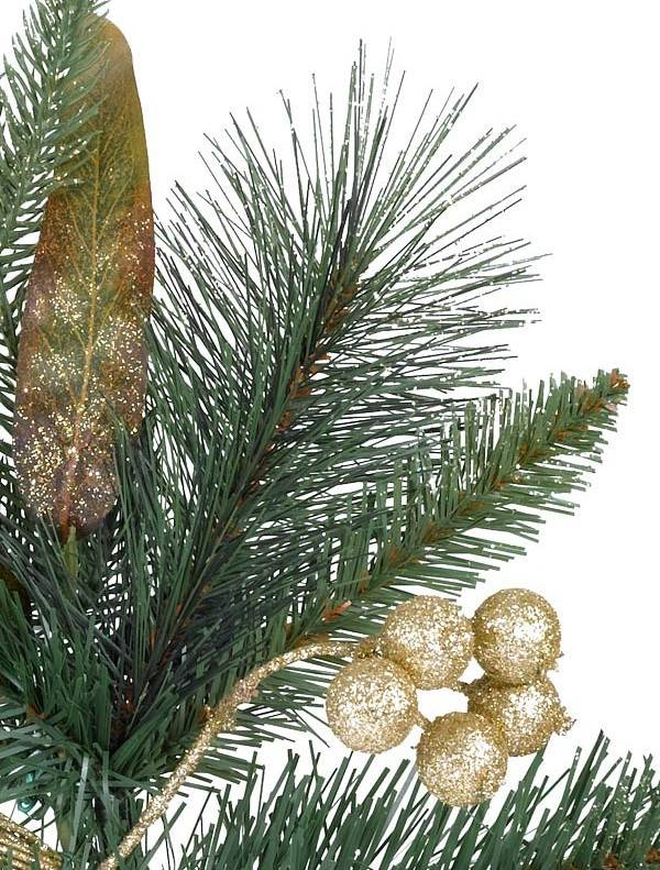 coloma golden pine potted artificial christmas tree balsam hill