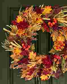 Country Fields Wreath by Balsam Hill