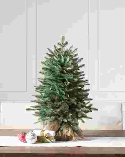 30in LED Balsam Fir Tabletop Tree by Balsam Hill SSC 10