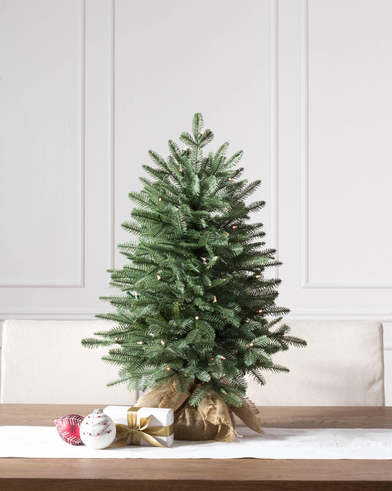 Balsam Fir Tabletop Tree