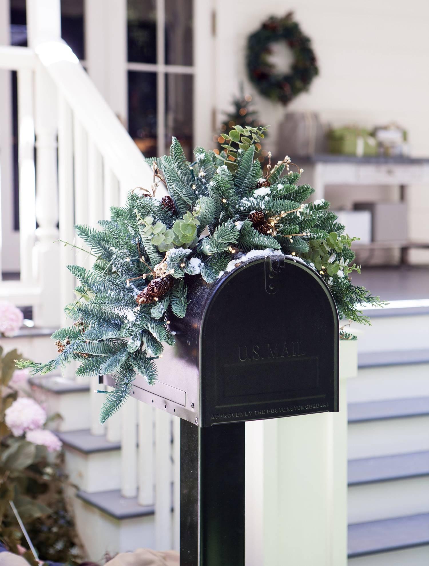 ... Mountain Meadow Mailbox Swag Alt ...