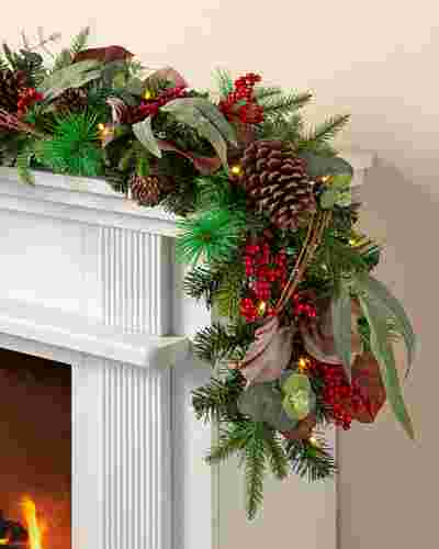 Farmhouse Garland 2 Pack by Balsam Hill