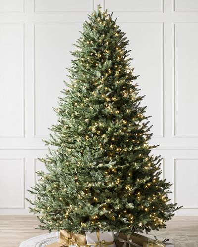 BH Balsam Fir Tree Main Image. Candlelight™ LED Lights - Balsam Fir Christmas Trees Balsam Hill