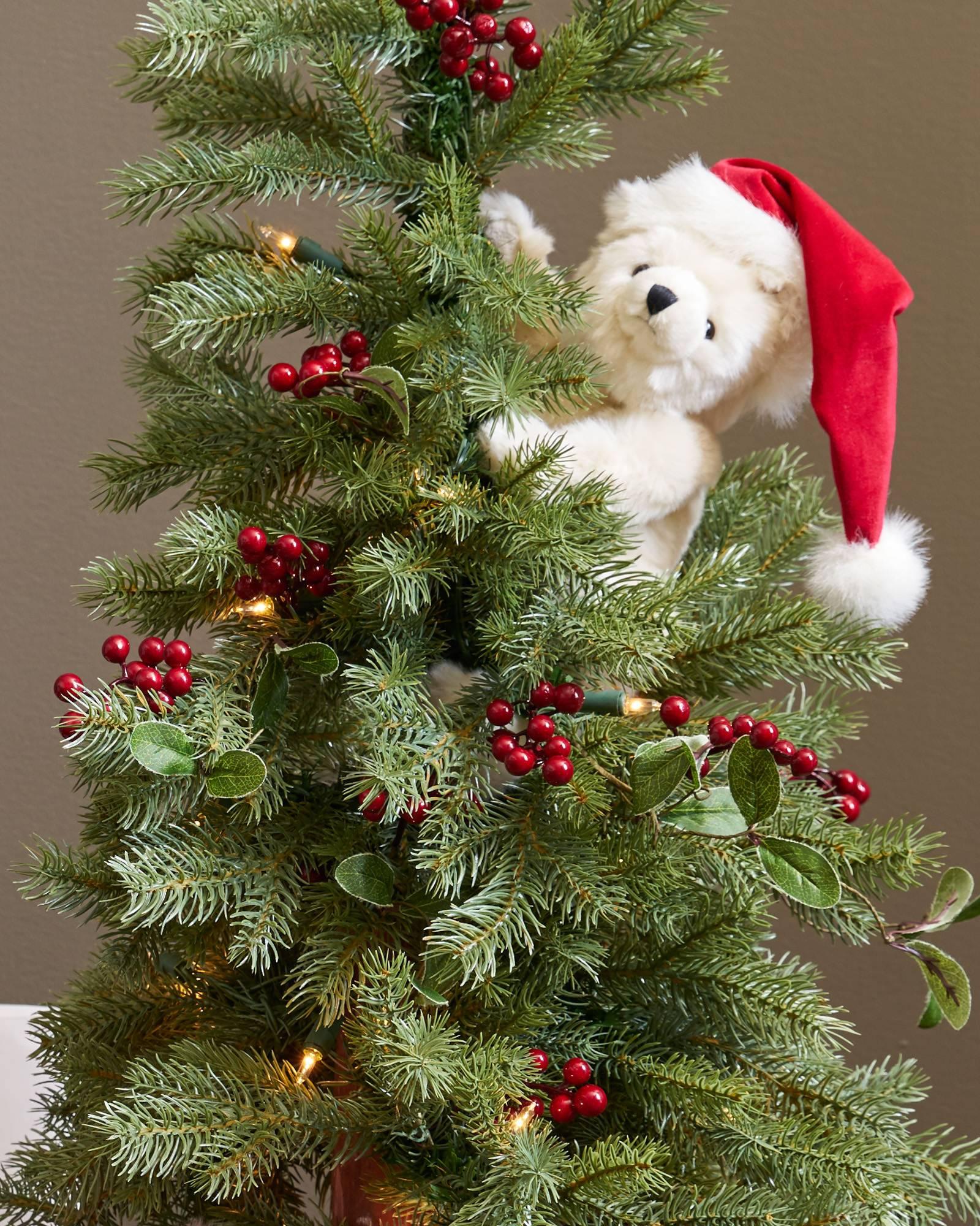 peek a boo polar bear tree balsam hill