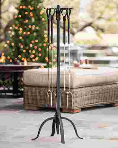Forged Roasting Forks Main