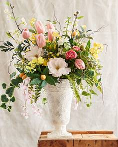 Artificial flower arrangements balsam hill spring in bloom arrangement by balsam hill mightylinksfo Image collections