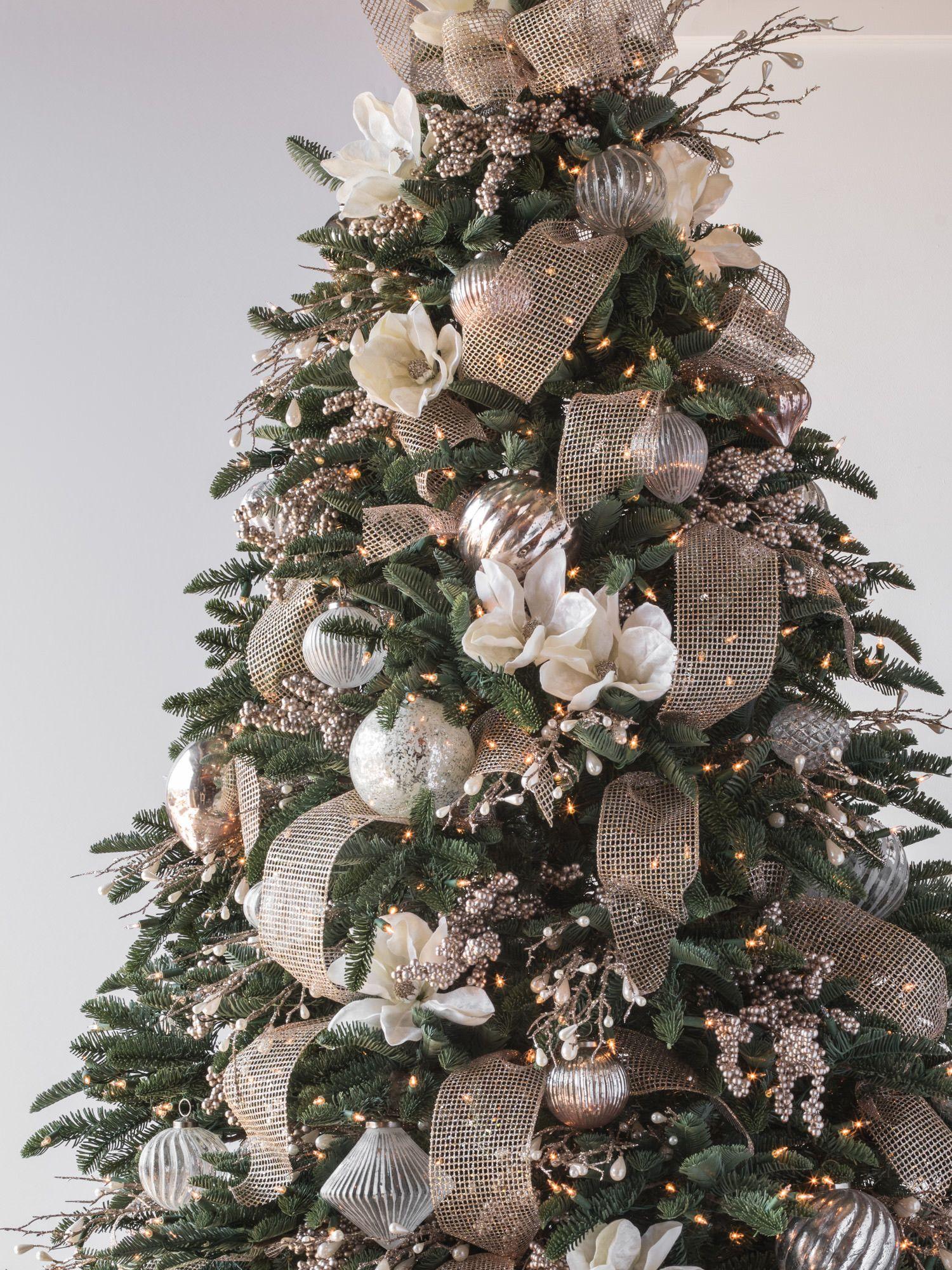 Gold Christmas Tree Skirts