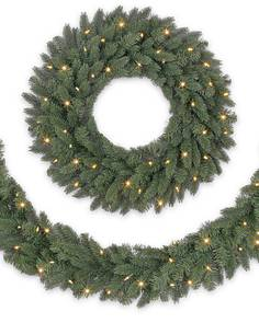 Vermont White Spruce Wreath And Garland Main