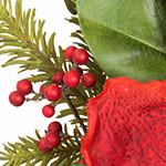 Amaryllis Magnolia Christmas Wreath by Balsam Hill Foliage
