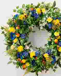 Outdoor Summer Breeze Wreath by Balsam Hill