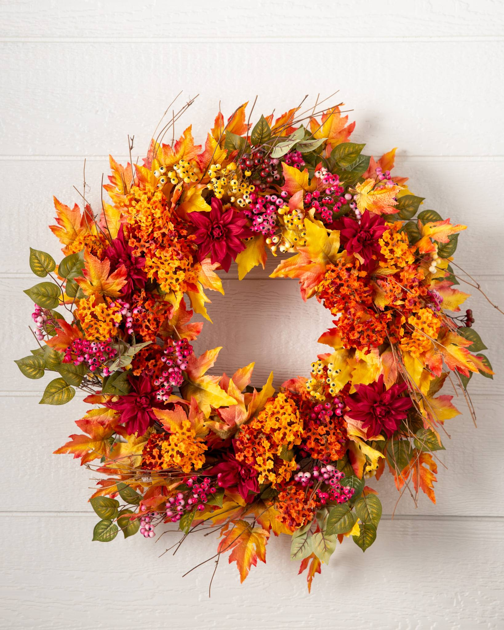 Outdoor Harvest Bloom Artificial Foliage | Balsam Hill