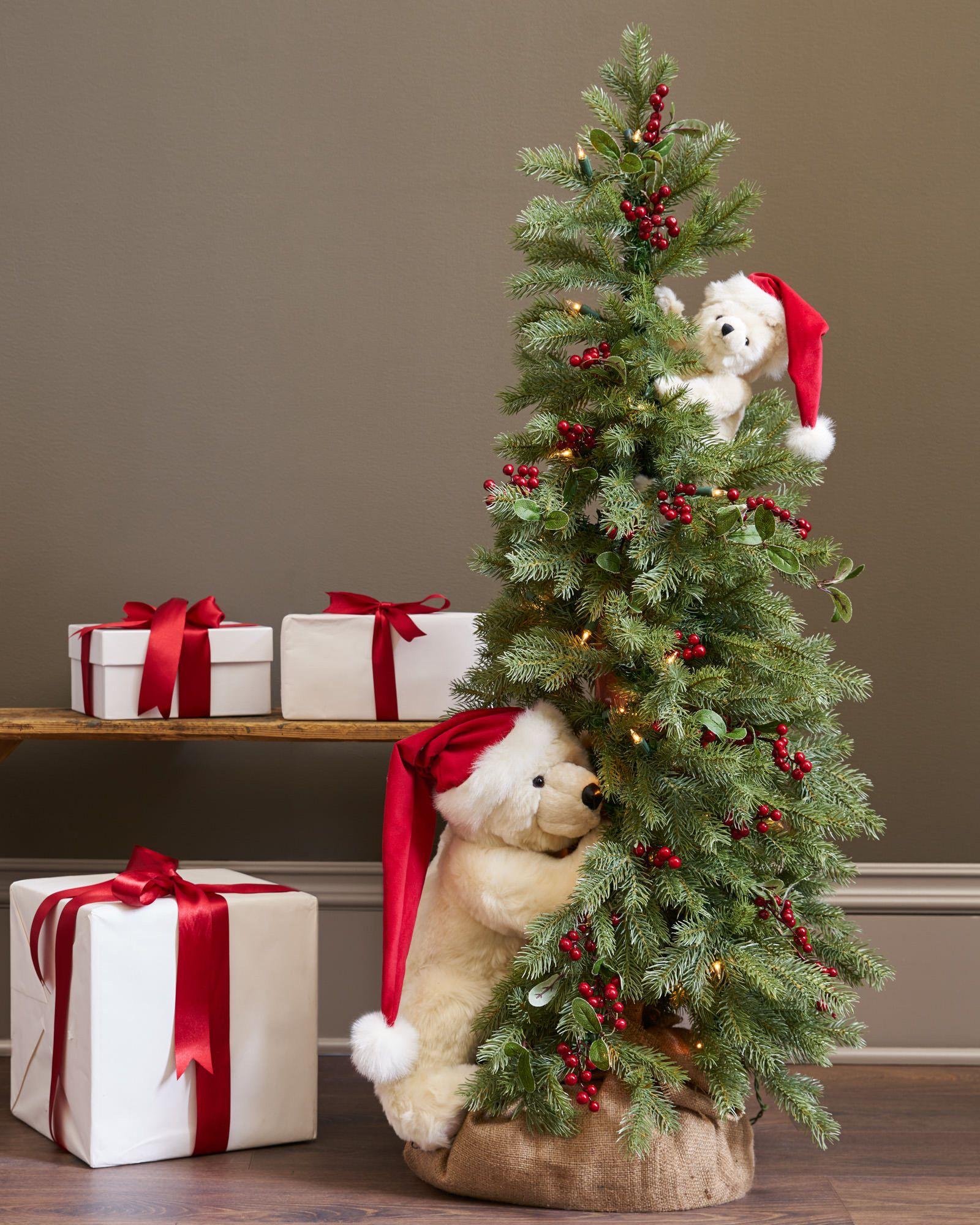 Peek A Boo Polar Bear Tree Main