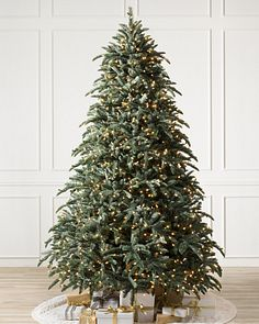 7 To 7 5 Foot Artificial Christmas Trees Balsam Hill