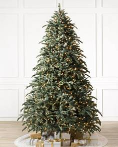 bh noble fir flip tree 1 - Prelit Led Christmas Trees