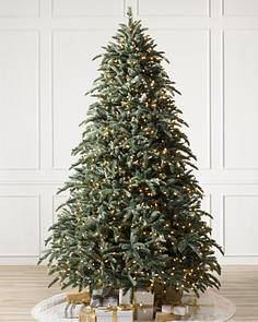 bh noble fir flip tree 1 - Classic Christmas Tree Decorations