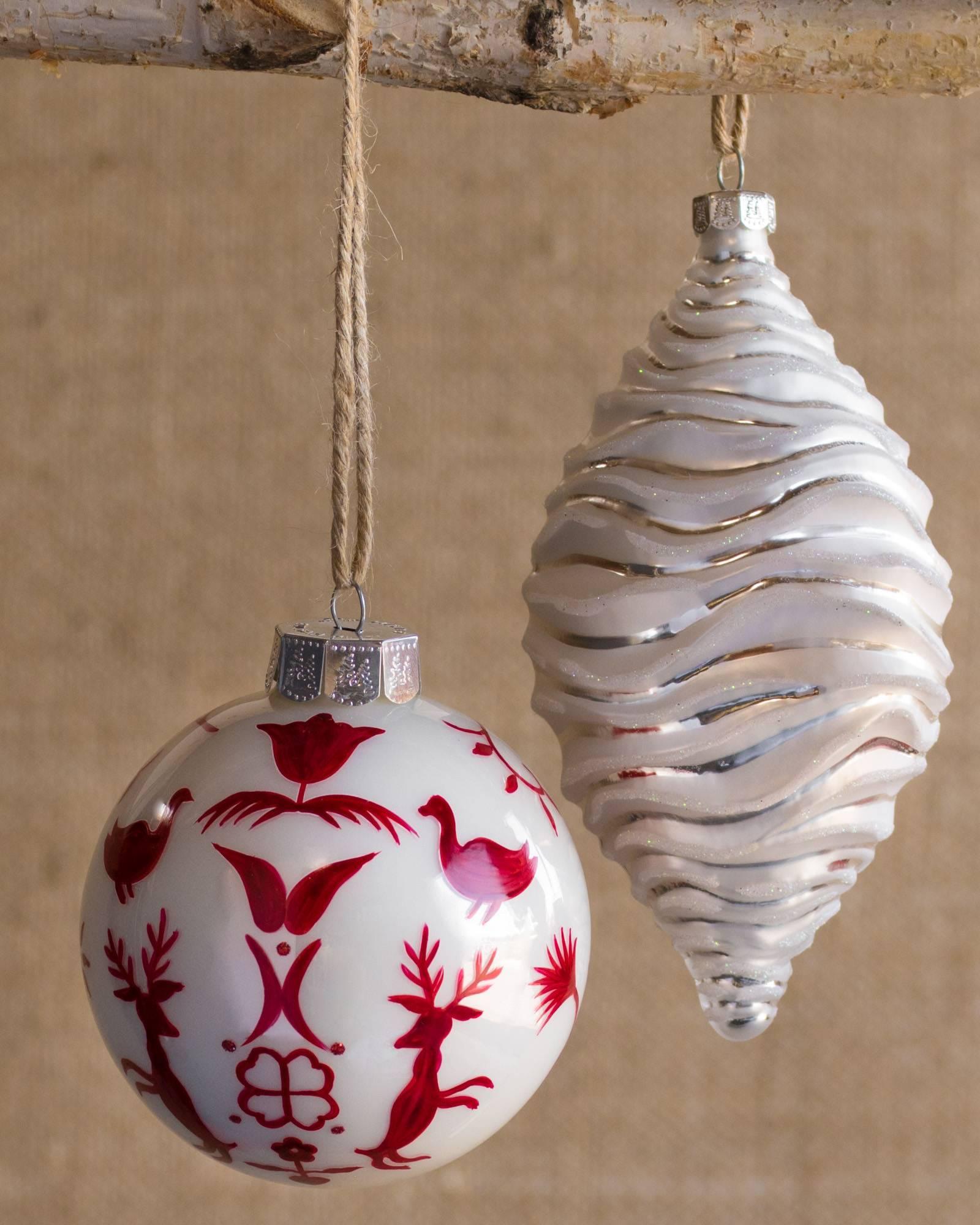Nordic Frost Ornament Set 25 Pieces Alt