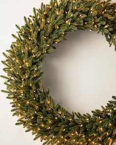 48 To 60 Artificial Christmas Wreaths Balsam Hill
