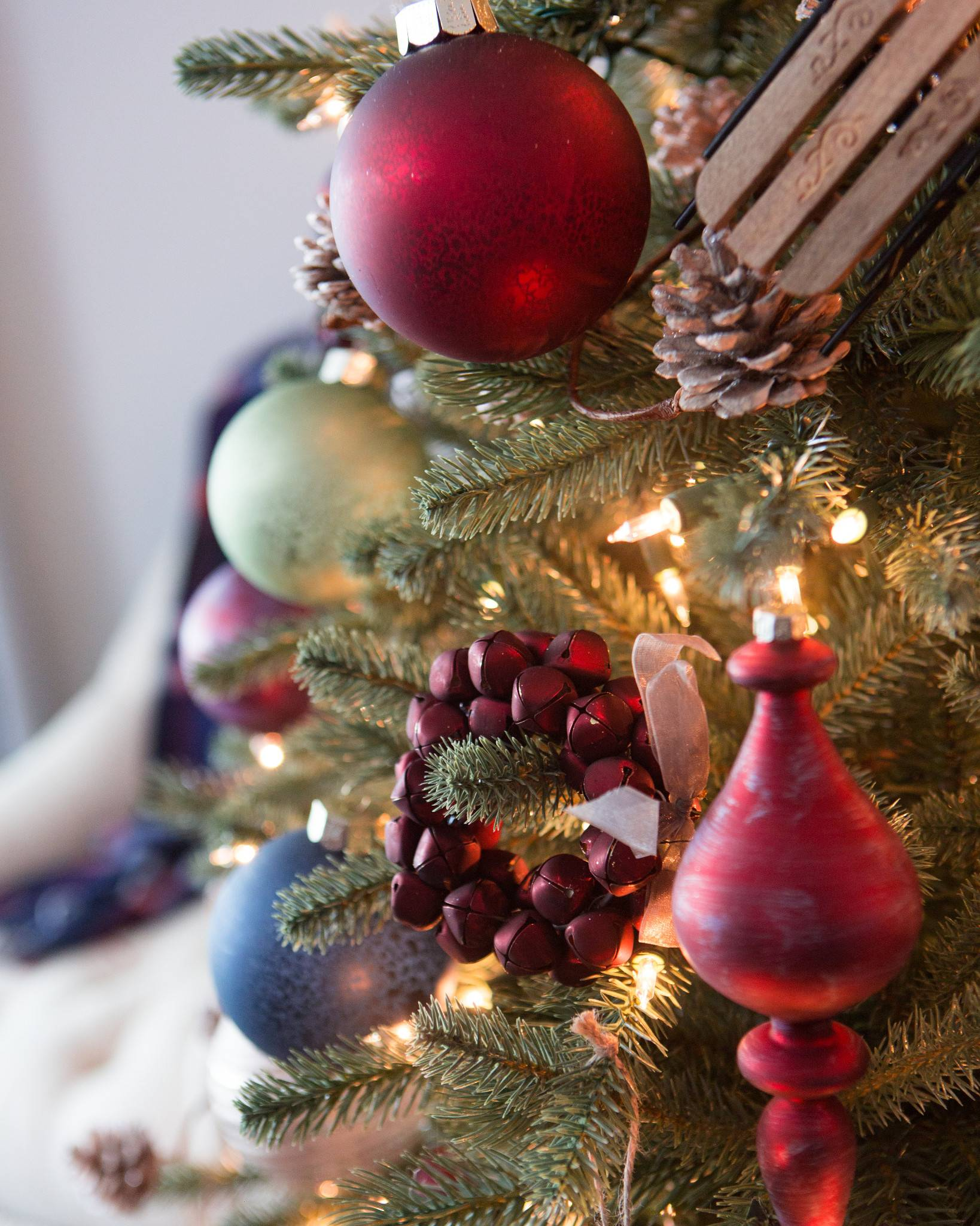 Farmhouse Christmas Ornament Set | Balsam Hill