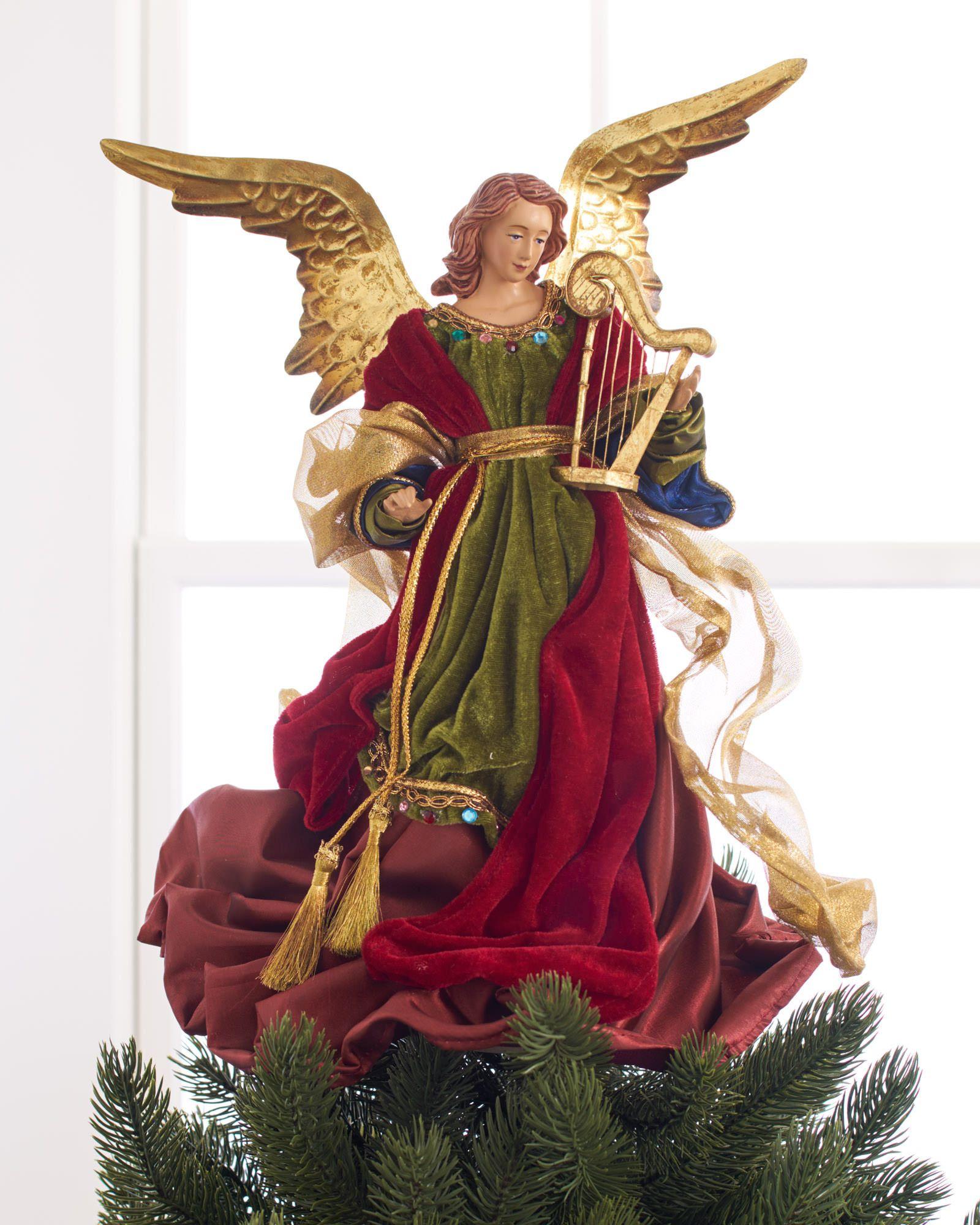 christmas angel tree topper balsam hillchristmas angel tree topper main