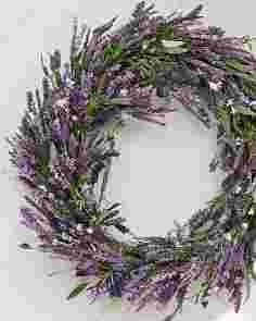 Provencal Lavender Wreath
